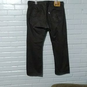 Black 505 Levis regular 36/29 used jeans